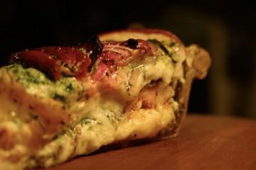 A Slice o Savory Cheese Pie