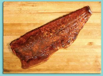 Smoked Salmon with Thai Rub